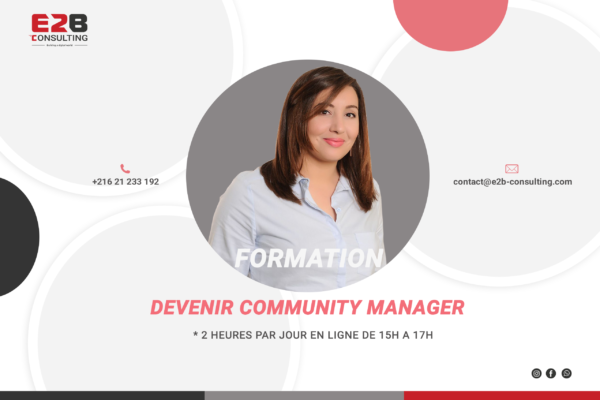 Formation devenir community manager