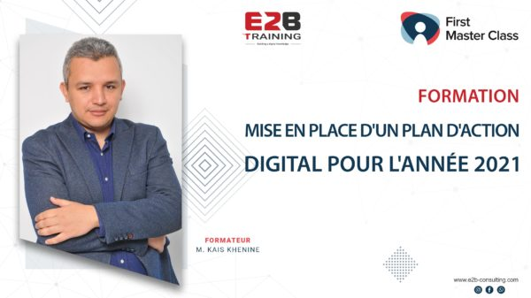 Formation plan d'action marketing digital